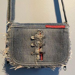 Denim small purse